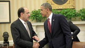 Al Maliki Obama photo